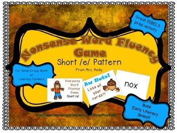 NWF Nonsense Word Fluency_Short /o/ - Fall Theme