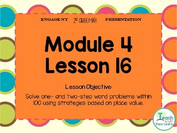 Engage NY Smart Board 2nd Grade Module 4 Lesson 16