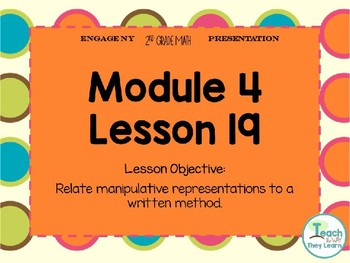 Engage NY Smart Board 2nd Grade Module 4 Lesson 19