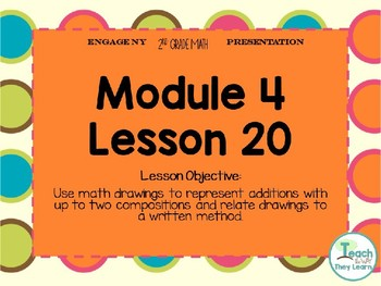 Engage NY Smart Board 2nd Grade Module 4 Lesson 20