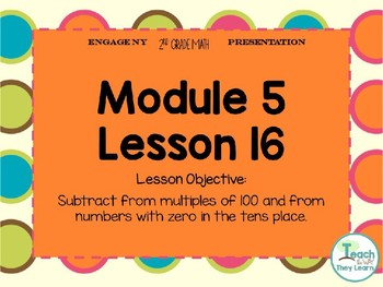 Engage NY Smart Board 2nd Grade Module 5 Lesson 16