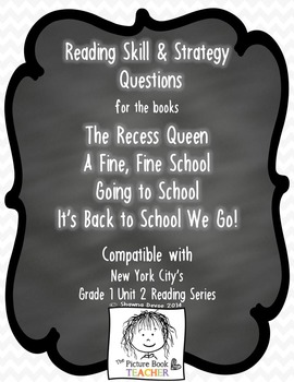 NYC Grade 1 Unit 2 Questions - Reading Series Companion