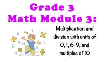 NYS 3RD GRADE MATH MODULE 3 NOTEBOOK LESSONS (COMMON CORE)
