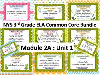NYS 3rd Grade ELA Common Core Module 2A Unit 1 Bundle