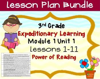 Engage NY ELA Expeditionary Learning  3rd grade Module 1 U