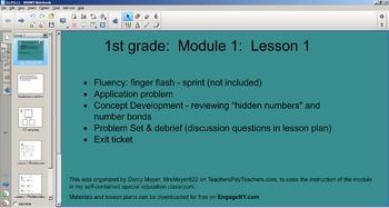 NYS Common Core 1st Grade Math Module 1 - Topic A - Lesson 1-3