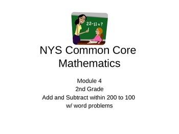 NYS Common Core     Module 4     2nd grade