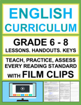 Informational Text & Reading Literature with Film Clips: G