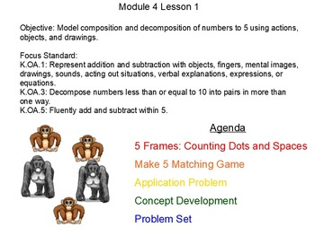 NYS Engage NY Kindergarten Math Module 4 Smart Board Lessons