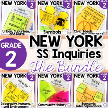 NYS Grade 2 SS Inquiries GROWING BUNDLE