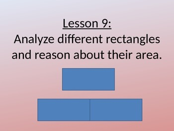 NYS Grade 3 Math Module 4, Topic C, Lessons 9-11 PowerPoint