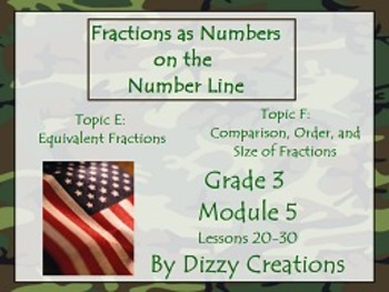NYS Grade 3 Math Module 5 Topic E and F Flipcharts