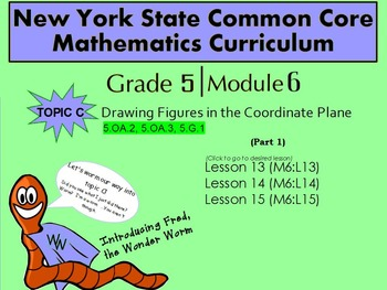 NYS Grade 5 Math Module 6 Topic C (part 1) Lessons 13-15