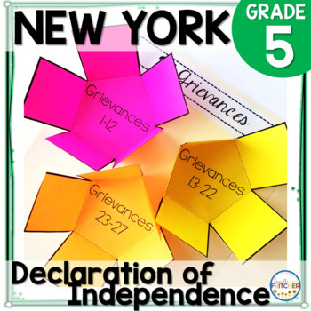 NYS Grade 5 SS Inquiry: Declaration of Independence