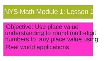 NYS Math Module 1 Lesson 10