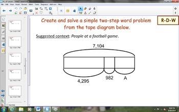 NYS Math Module 1, Topic E, Lesson 19 Notebook Lesson