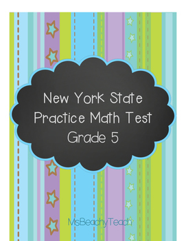 New York State Test Prep - Math Grade 5