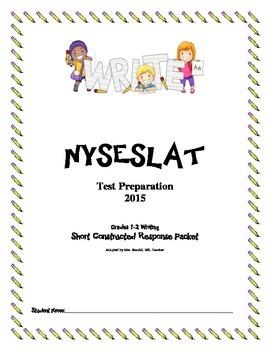 NYSESLAT 2015 Grades 1-2 Short Constructed Response Writin