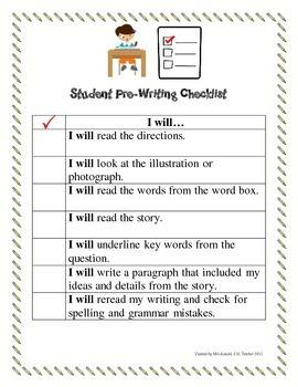 NYSESLAT 2015 Reading and Writing Checklist Grades 1-2