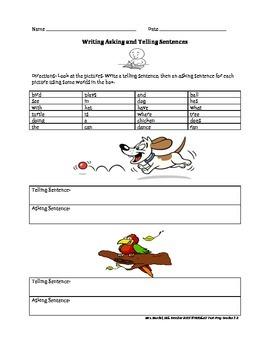 NYSESLAT Writing Sentences Packet