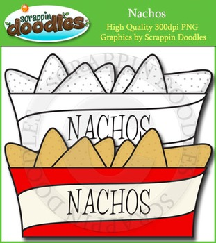 Nachos Clip Art Single Image