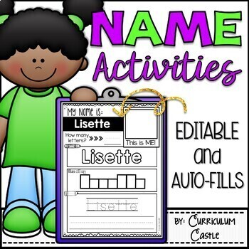 Name Activities EDITABLE
