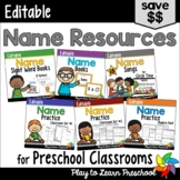 Name Activities Bundle