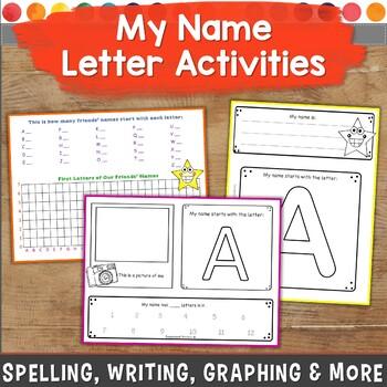 Name Activities for Prek & K: Build, Write, Practice