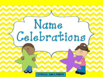 Name Celebration Back to School