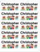 Name Labels Type in Comic Sans-Multipurpose Set 5