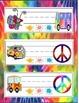 Name Plates - Hippie Peace