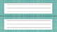 Name Plates (fall colors)