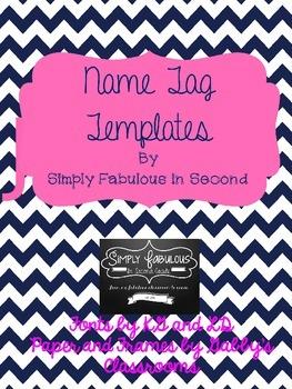 Name Tag Template