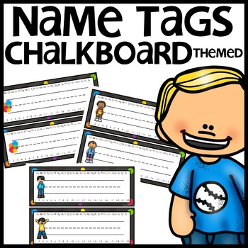 Name Tags (Chalkboard Themed)
