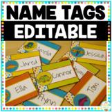 Name Tags - Customizable/Editable