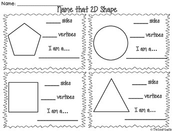 Name That 2D Shape