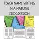 Name Writing Notebook