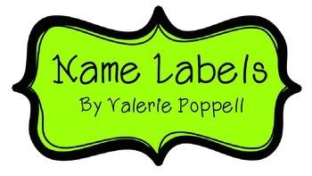 Name labels