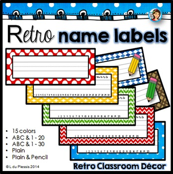 Name labels (editable)