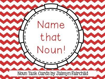 Name that Noun Task Cards