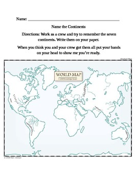 Name the Continents!