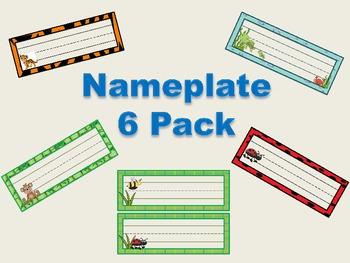 Nameplate 6 Pack!