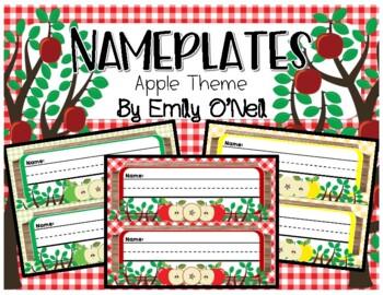 Nameplates (Apple Theme)
