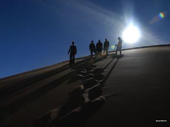 Namibia Landscape Silhouette