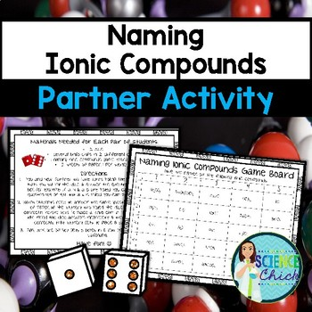 Naming Ionic Compounds Partner Activity