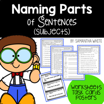 Naming Parts (Subjects) of Sentences
