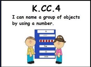 Naming a Group of Objects: An Activeboard Center Activity