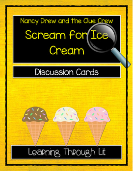 Nancy Drew and the Clue Crew - SCREAM FOR ICE CREAM - Disc