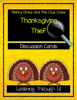 Nancy Drew and the Clue Crew THE THANKSGIVING THIEF - Disc