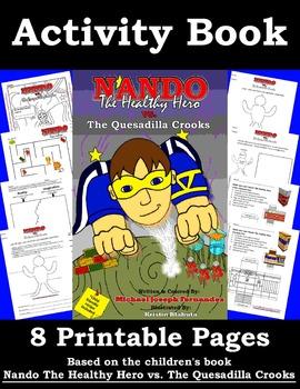 Nando The Healthy Hero Activity Book 01